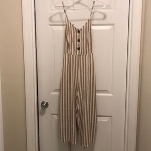 Universal Thread Striped Jumpsuit with tags